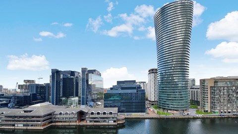 Crossharbour Plaza Canary Wharf E14