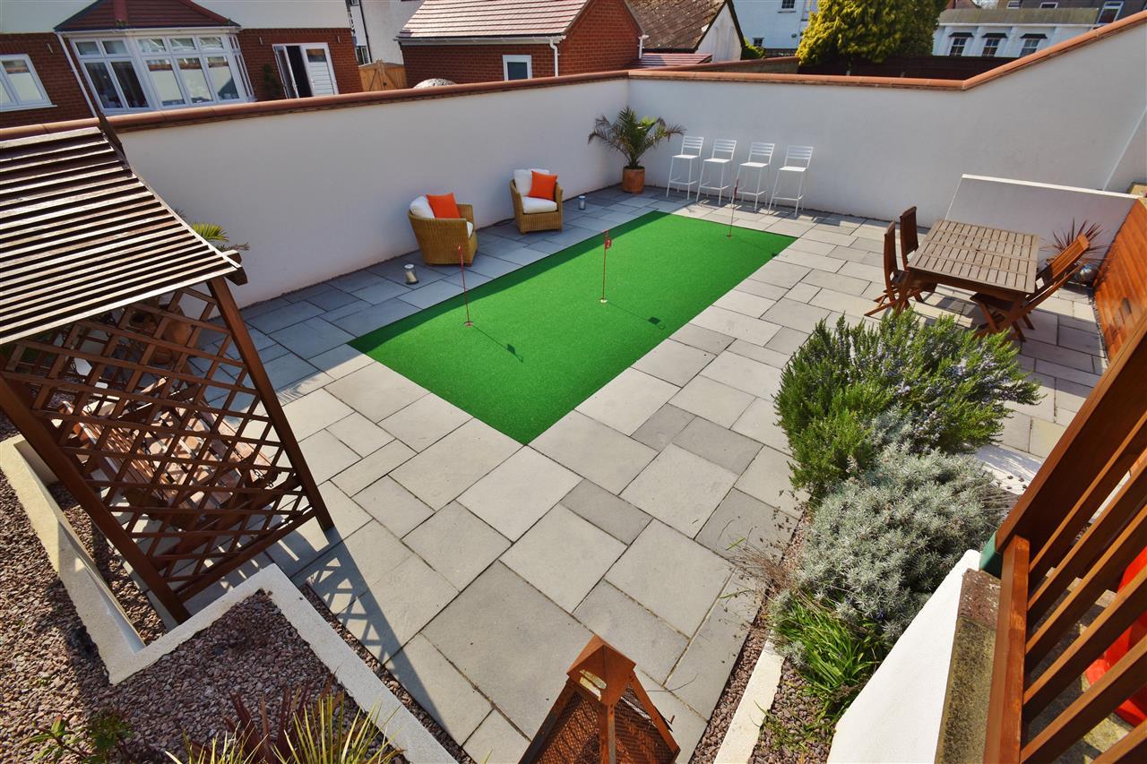 lower level rear garden