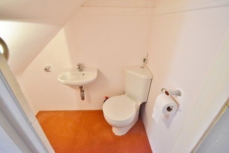 WC under stairs