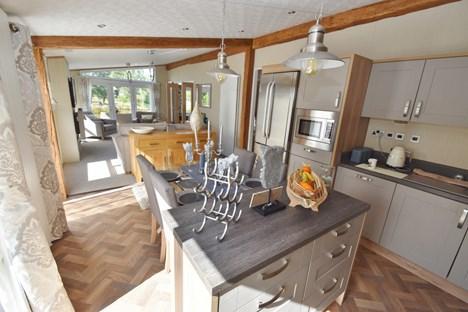 Kitchen Through Loung