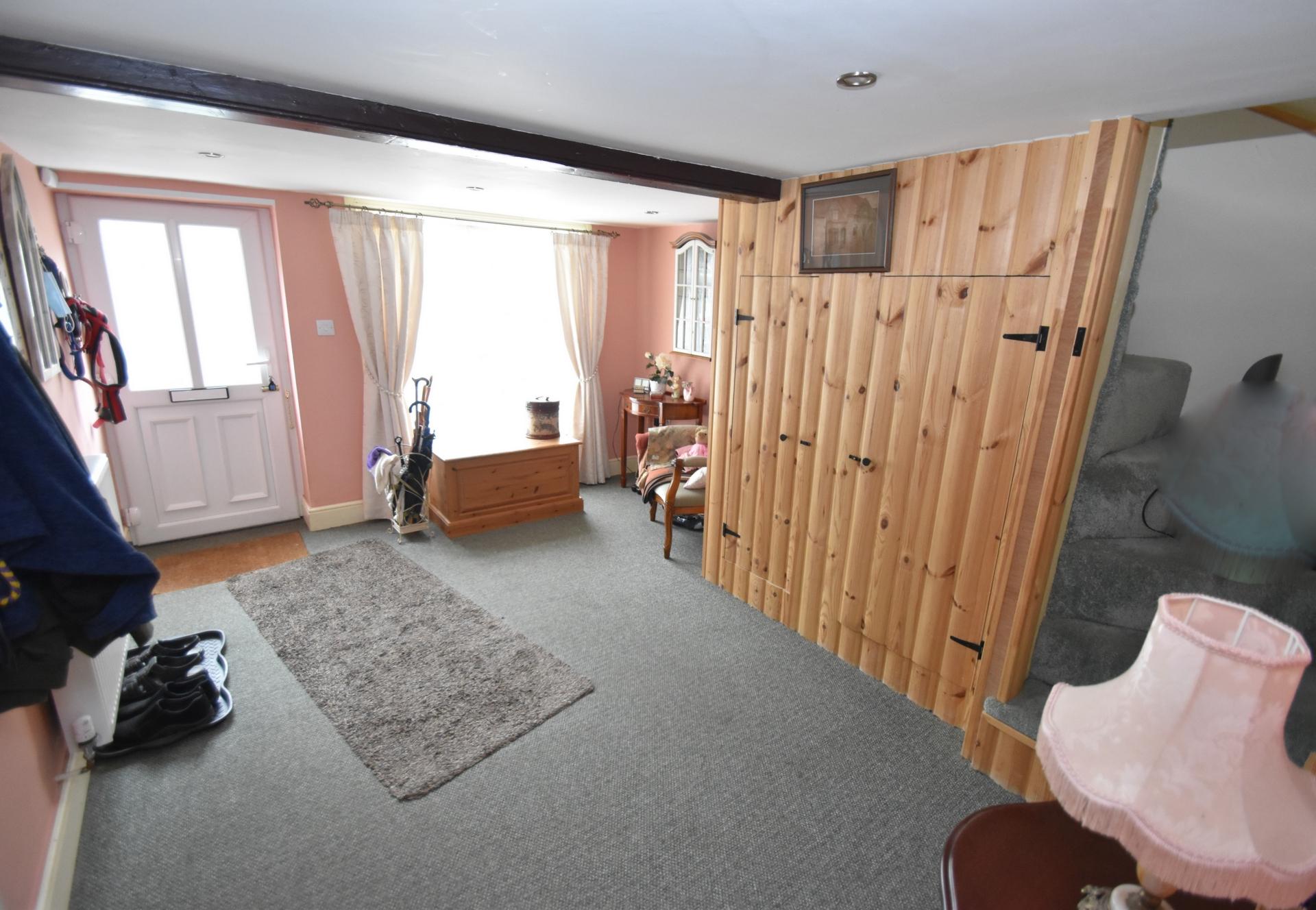 hallway/possible room