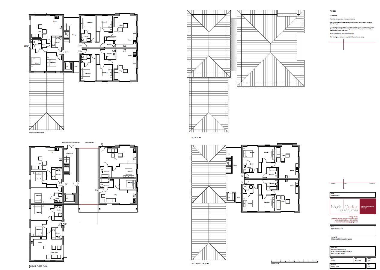 Proposed Floor Plan 1