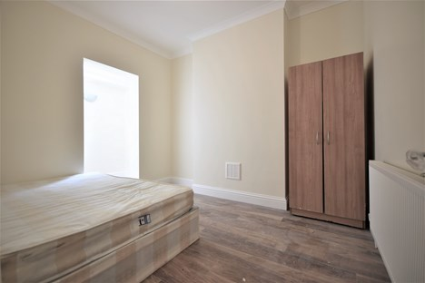 Bedroom with study area