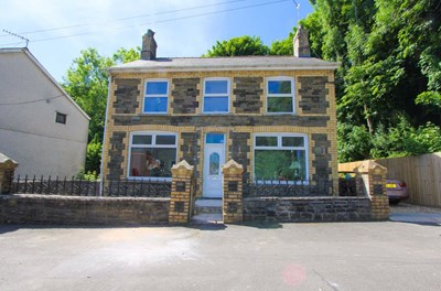 The Square, Glan Y Nant, Pengam Near Bargoed NP12 3XF