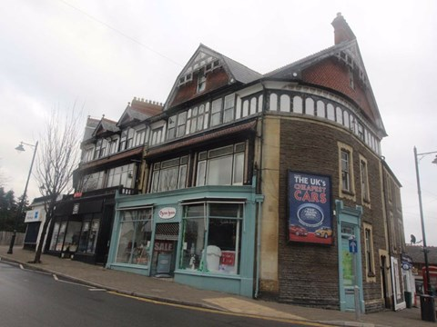 Property photo: Royal Buildings, Stanwell Road, Penarth CF64 3EB