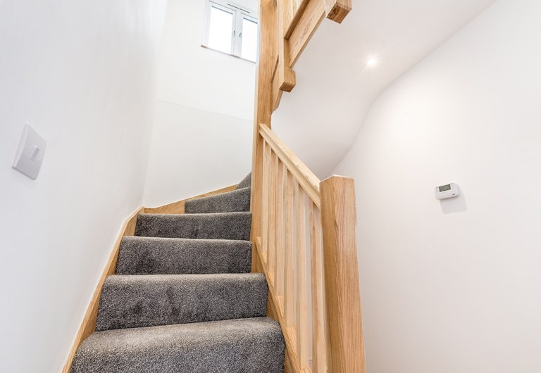 Stairs leading to